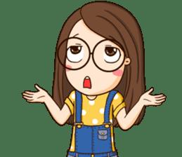 TuaGom : cute girl sticker #8366881