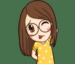TuaGom : cute girl sticker #8366882