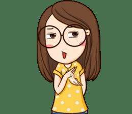 TuaGom : cute girl sticker #8366884