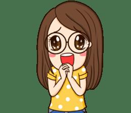 TuaGom : cute girl sticker #8366887