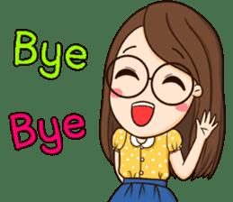 TuaGom : cute girl sticker #8366890