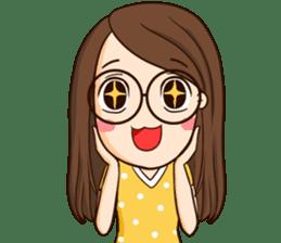 TuaGom : cute girl sticker #8366895