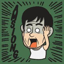 Asan Pek (Hokkien) sticker #8368251