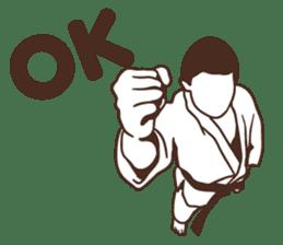Martial Arts Judo surreal stickers vol.1 sticker #8368700