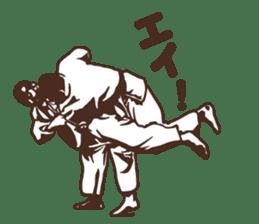 Martial Arts Judo surreal stickers vol.1 sticker #8368723