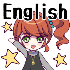 Girls Sticker vol.1(English)