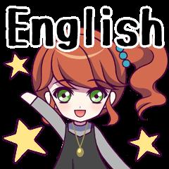 Girls Sticker vol.1(English)