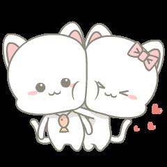 Njun & Njel: คู้รักเหมียวน้อย