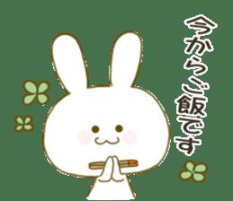 Sticker.little rabbit2 sticker #8373940
