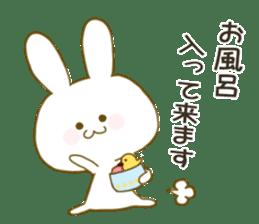 Sticker.little rabbit2 sticker #8373942