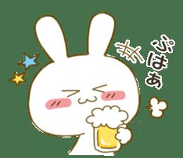 Sticker.little rabbit2 sticker #8373945
