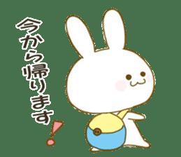 Sticker.little rabbit2 sticker #8373947