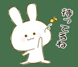Sticker.little rabbit2 sticker #8373948