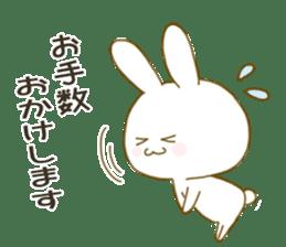 Sticker.little rabbit2 sticker #8373954