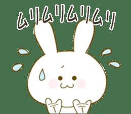 Sticker.little rabbit2 sticker #8373955