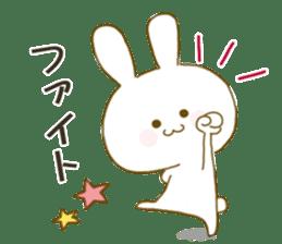 Sticker.little rabbit2 sticker #8373957
