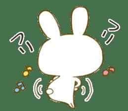 Sticker.little rabbit2 sticker #8373959