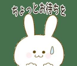 Sticker.little rabbit2 sticker #8373960