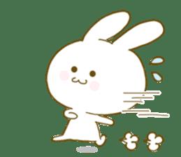 Sticker.little rabbit2 sticker #8373961
