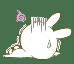 Sticker.little rabbit2 sticker #8373962