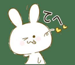 Sticker.little rabbit2 sticker #8373963