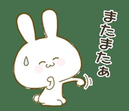 Sticker.little rabbit2 sticker #8373967