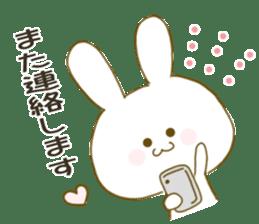 Sticker.little rabbit2 sticker #8373971