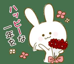 Sticker.little rabbit2 sticker #8373976