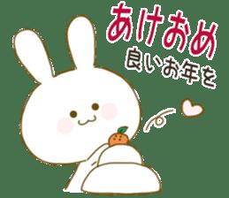 Sticker.little rabbit2 sticker #8373978