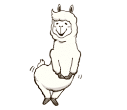 Dancing Alpaca sticker #8383878