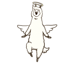 Dancing Alpaca sticker #8383885
