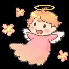 Fluffy Angel Boy