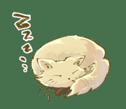 Ninja wearing a Mask of fox sticker #8394784