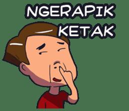 Urang Bangka sticker #8395168