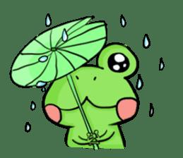 kero kero Frog sticker #8397549