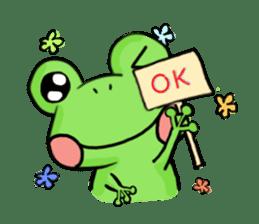 kero kero Frog sticker #8397556