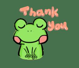 kero kero Frog sticker #8397571