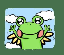 kero kero Frog sticker #8397572