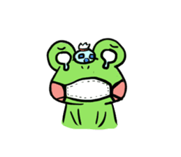 kero kero Frog sticker #8397579