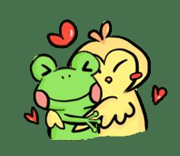 kero kero Frog sticker #8397584