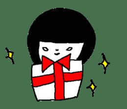 Sachiko Fall of everyday sticker #8398330