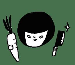 Sachiko Fall of everyday sticker #8398336