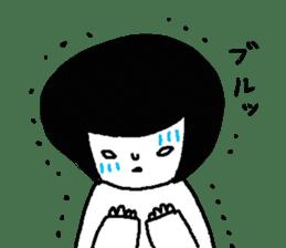 Sachiko Fall of everyday sticker #8398339