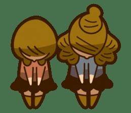 Stickers of UNABARA Yasuyo&Tomoko sticker #8401047