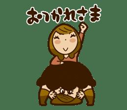 Stickers of UNABARA Yasuyo&Tomoko sticker #8401051