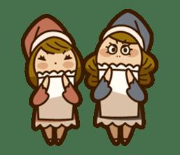 Stickers of UNABARA Yasuyo&Tomoko sticker #8401064