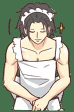 Man Maid (not a butler) Eng. sticker #8405229
