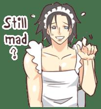 Man Maid (not a butler) Eng. sticker #8405245