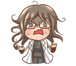 Cute Doctor sticker #8406390