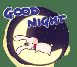 Little Unicorn Bunny 3 sticker #8408872